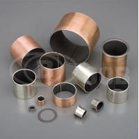 OOB-10 Steel + Bronze Powder + PTEE/fille Self-lubricating Bearing