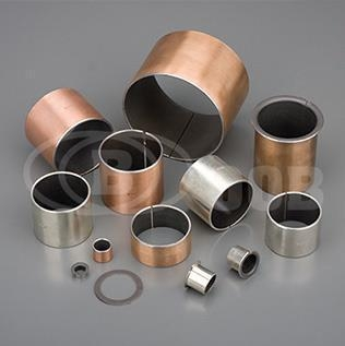Quality OOB-10 Steel + Bronze Powder + PTEE/fille Self-lubricating Bearing for sale
