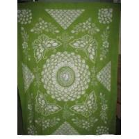 China Dinning room good quality tablecloth tie dye 100% cotton on sale