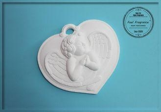 Quality Environmental Handmade Engraved Angel Opium Scented Stones for sale