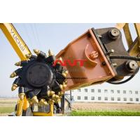 Low Noise Medium-sized Double Head Drum Cutter for Excavators 12T TO 18T Manufactures