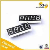 Free Sample Colors Blue White 0.80 Inch FND LED 4 Digits Indoor 7 Segment Display Manufactures