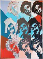 China Andy Warhol Ii.232 The Marx Brothers 1980   Hand Signed Screenprint More Avail on sale