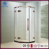 China Frameless Neo-Angle Walk in Shower Enclosure with Stainless Steel Hardware (Shower Base Included) (K on sale
