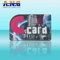 Customize laser PVC RFID smart card / gift rfid business cards programming