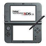 China New Nintendo 3DS LL Metallic Black (Japanese Imported Version - only plays Japanese version games) on sale