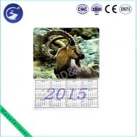 Buy cheap Custmized 3D Zodiac Calendar Fridge Magnet For Decoration from wholesalers