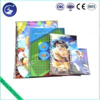 3D Lenticular spiral Notebook book cover Manufactures
