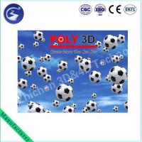 3D Lenticular Sports Football Match Poster Manufactures