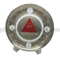China Silver Trophy Plates Stand on sale