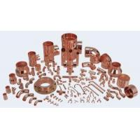 China Water System Red Copper Pipe Fittings With Low Price on sale