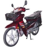 Red 110cc Street Electric Motorcycle For Sale Manufactures