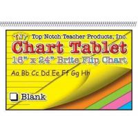 Chart Tablets 16x24 Assorted Blank Manufactures