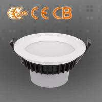 ENEC, CE, CB And SAA Round Recessed LED Downlights / Down Light Manufactures