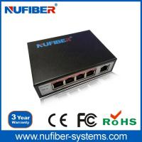 Computer Hardware & Software Best price 4 port with 1 uplink port Unmanageble POE Switch Manufactures