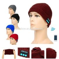 Fashion Accessories Best Selling Man Women Knitted Beanie Wireless Bluetooth Music Hat Cap Manufactures