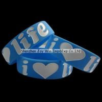 Silicone Wristband Product name:Promotional Wide 1 Manufactures