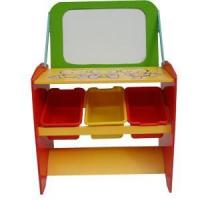 kid's storage rack with drawing board Manufactures