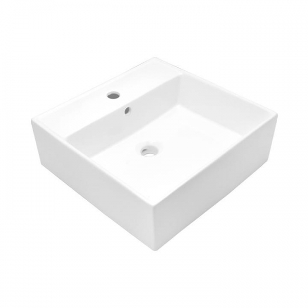 Quality Ceramic Wall Mounted Bathroom Vessel Sink White, SS-VD323 Vessel Sink for sale