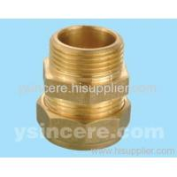 Compression Fittings with O-rings for Copper Pipes YC-00402 Manufactures