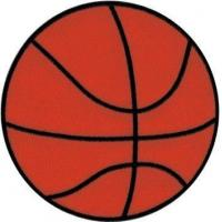 Basketball - 4\ Round Embroidered Iron On Or Sew On Patch Manufactures