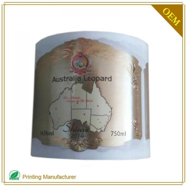 Quality Winel label printing 012 for sale