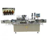 Full automatic liquid filling capping machine rolling thread Manufactures