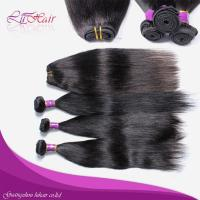 100% remy indian straight hair weave Manufactures