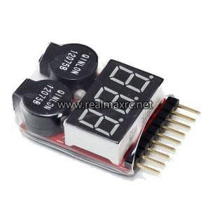 Quality Lipo Battery Low Voltage Tester 1s-8s Buzzer Alarm Indicator for sale