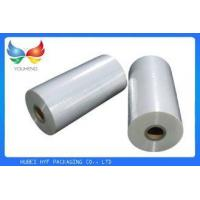 China Cosmetic Packaging POF Shrink Film , 12.5mic Centerfold Shrink Wrap Sheets on sale