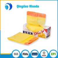 China Recycled HDPE / LDPE with D2W Plastic Biodegradable Drawstring Garbage Bag on sale