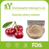 VC 17 Organic Acerola Cherry Extrcat / Organic Barbados Cherry Extract Powder Suppliers Manufactures