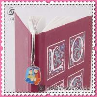 3d cartoon bookmarks for book, metal pendant wholesale kids bookmarks Manufactures