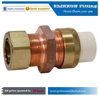China Copper Plumbing Coupling Sweat Tubing Coupler Nut Cap Bushing Plug Pipe and Fittings on sale