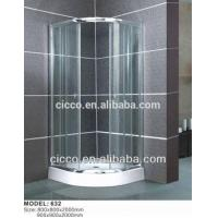 China New Design Wholesale Large Size OEM Glass Shower Enclosures on sale