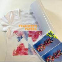 Easy weed eco solvent printable heat transfer vinyl for light garment Manufactures