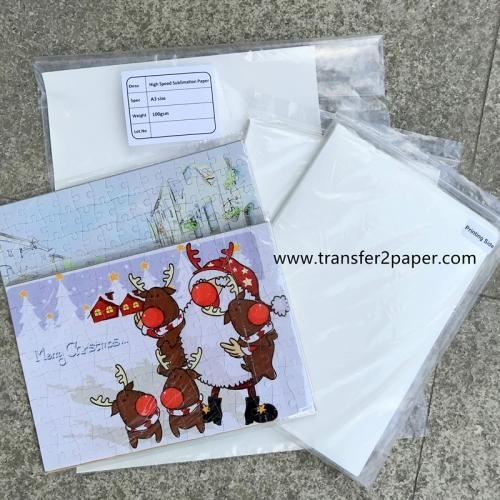 Quality A4 sublimation transfer paper for sale