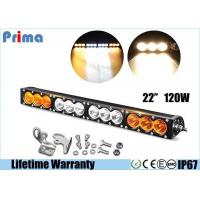 Buy cheap 22inch 120W High Power Cree Led Fog Light Bar Amber White Waterproof Dustproof from wholesalers