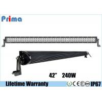 Buy cheap Double Row Combo 42 Inch LED Car Light Bar High Bright 240W DC 9V - 32V from wholesalers