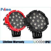 Buy cheap 51W Black Round LED Driving Light For Off Road 7 Inch Flood Beam 4080 Lumen from wholesalers