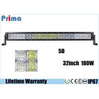 Buy cheap Double Row 5D 32 Inch CREE LED Car Light Bar For 4x4 Jeep 180W Super Bright from wholesalers