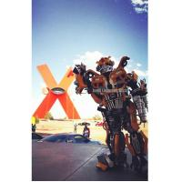 Buy cheap Popular Robot Costume For Events From Mexico client Transformers Bumblebee feedback from wholesalers