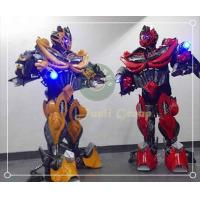 Buy cheap Transformers 4 Movie Men Bumblebee superhero Prestige Costume for Cosplay from wholesalers