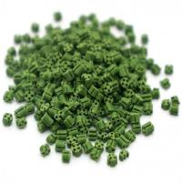 Green Color Rubber Particles for Sports Field Artificial Grass Manufactures
