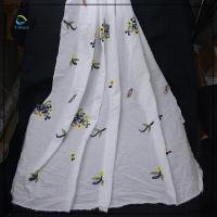 100% cotton eyelet embroidery fabric for woman clothing Manufactures
