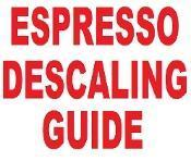 China Descaling guide for all Espresso machines on sale