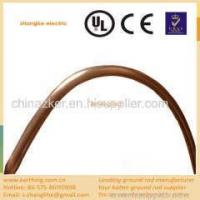 China high tensile strength copper ground rod on sale