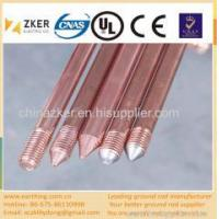 UL listed copper coated ground rod Manufactures