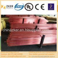 China security device copper clad steel grounding rod on sale