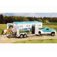 Breyer Stablemates Pick-up Truck and Gooseneck Horse Toy Trailer Manufactures